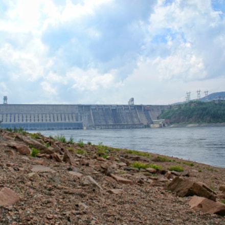 The Krasnoyarsk Hydroelectric Power Plant