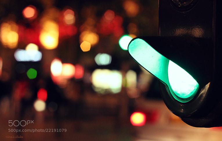 Photograph Green light by Nina's clicks on 500px