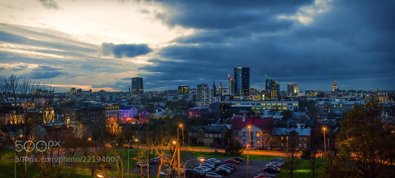 Photograph Tallinn Cityscape by Tim Sklyarov on 500px