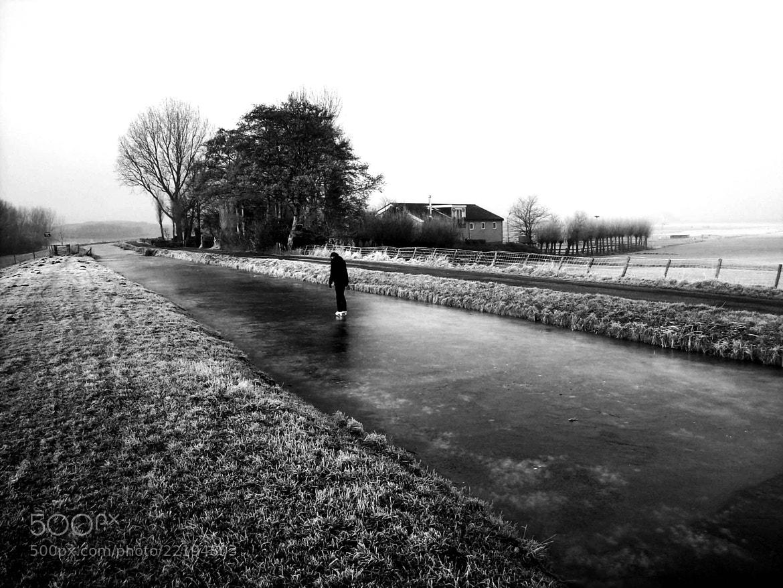 Photograph Winter Holland-The Backyard by Marion Van Putten on 500px