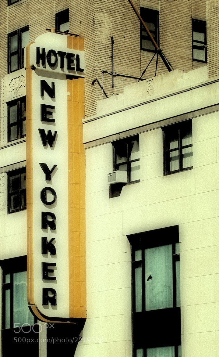 Photograph New Yorker Hotel by Susan Dennis on 500px