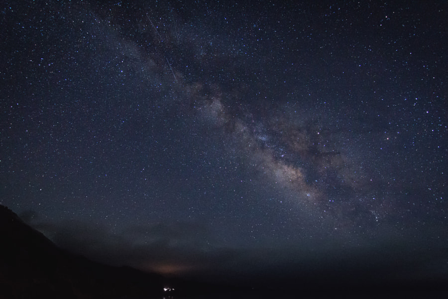 Milky Way in Big Sur by sam wirch on 500px.com