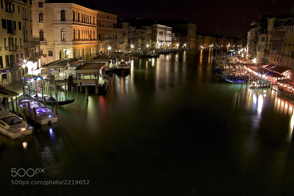 Photograph Venice night by Gianni Cicalese on 500px