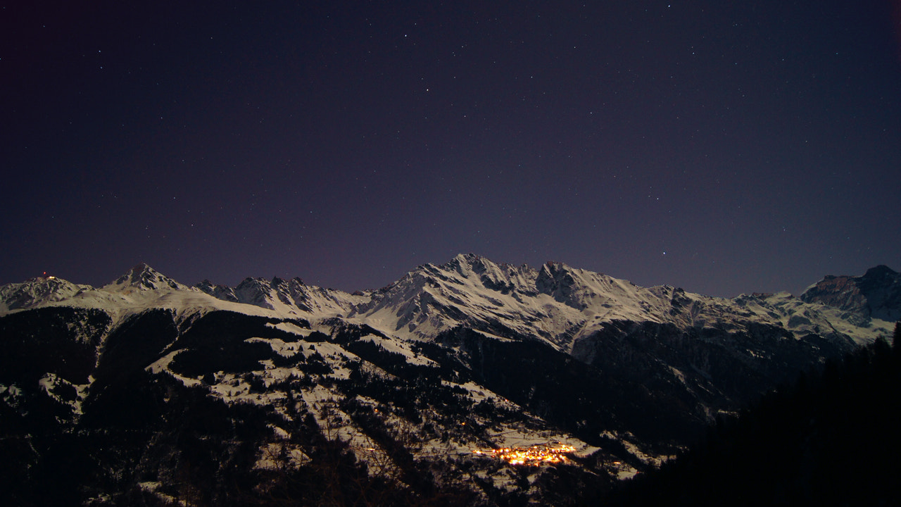 Photograph Lourtier by night by Edward Musset on 500px