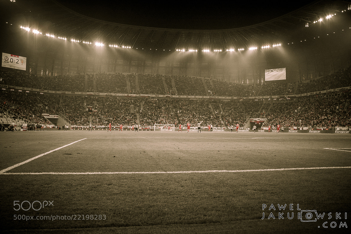 Photograph PGE Arena Stadium by Pawel Jakubowski on 500px