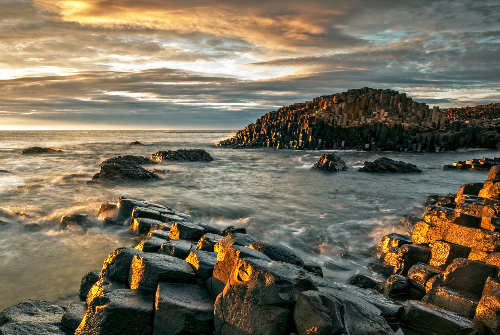 Photograph Causeway Gold by Brendan O Neill on 500px