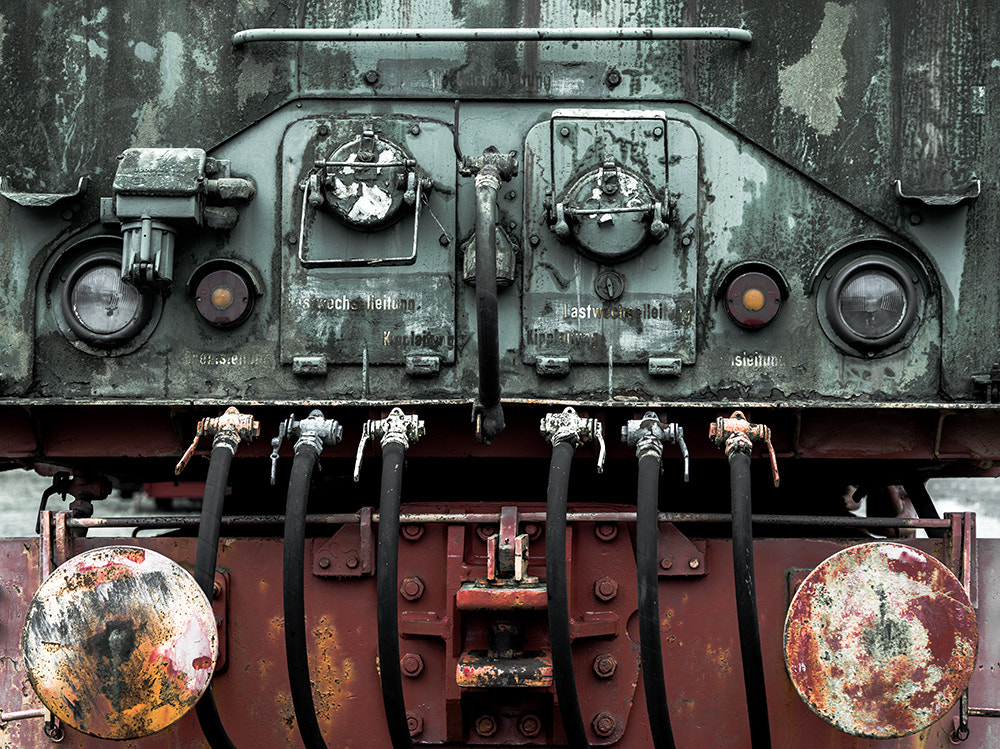Photograph The old Locomotive by Ekkenekkepen on 500px