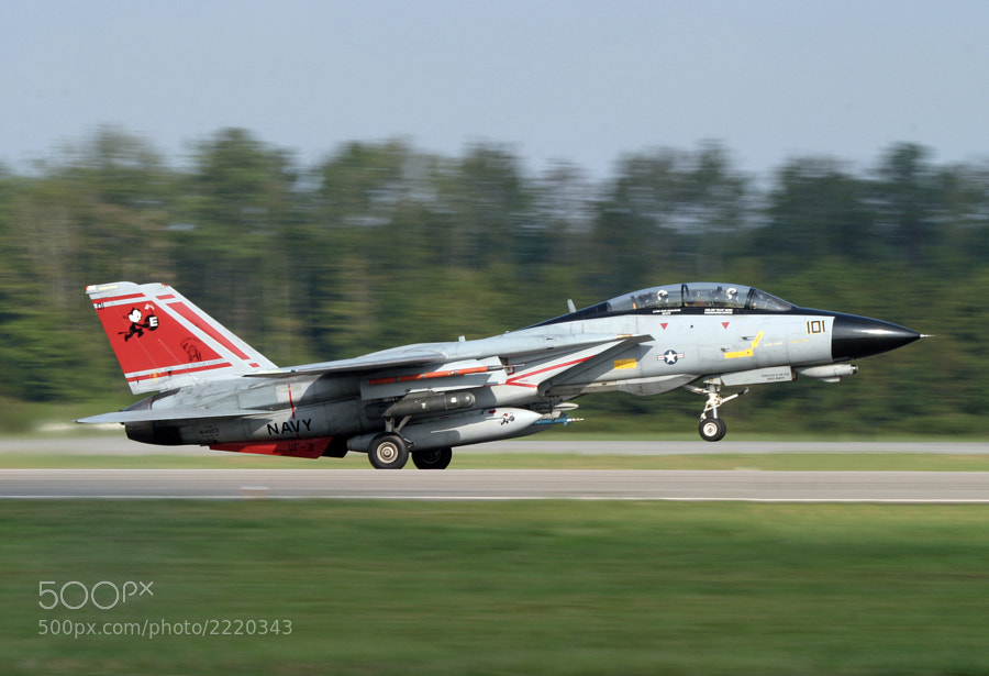 I'm not certain if this was the final operational sortie flown by an F-14 Tomcat but it was pretty darned close to it.