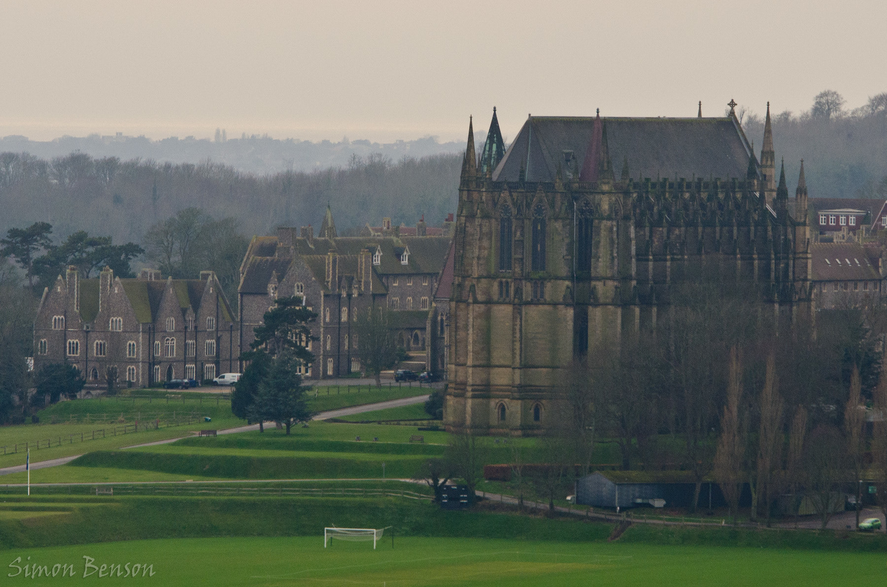 Photograph Lancing College by Simon Benson on 500px