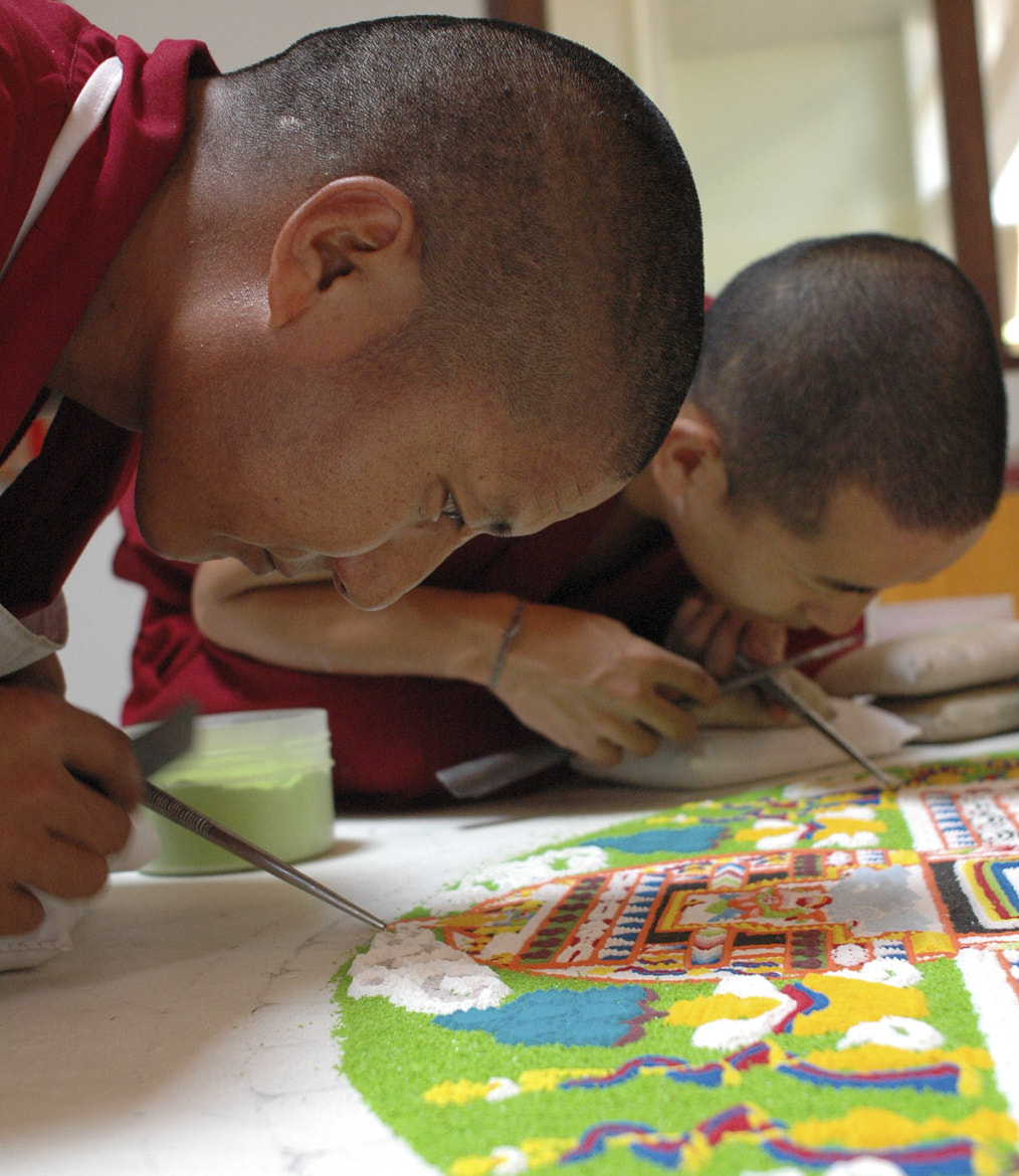 Photograph Monks Create Sand Mandala by Alan Bennett on 500px