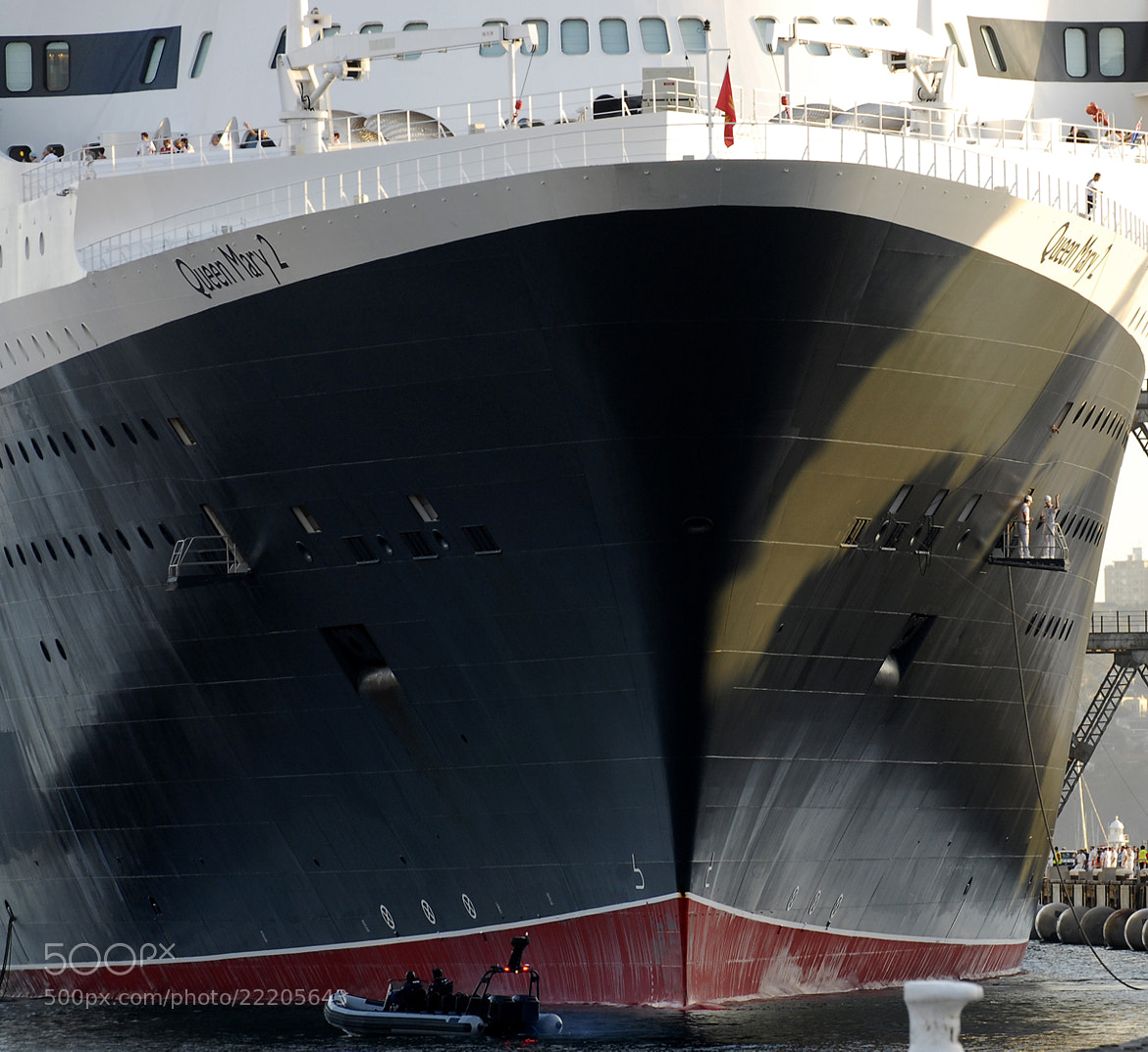Photograph Queen Mary 2 by Alan Bennett on 500px