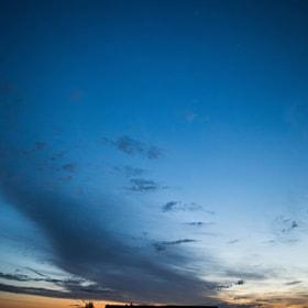 #amanecer #cielo #azul #casa #silueta #sombra #salamanca #castillayleon #dawn #sky #blue #house...