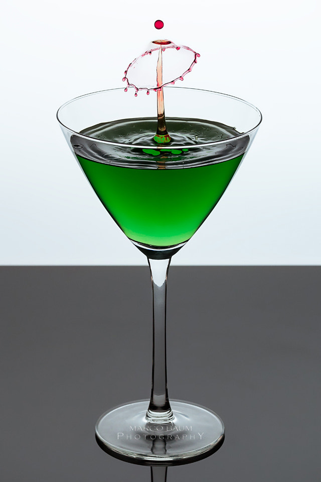 Photograph green cocktail by Marco Baum on 500px