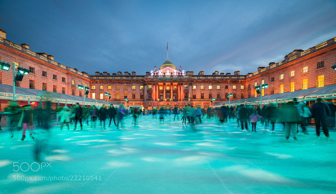 Photograph Somerset House Ice Rink by Tom Weightman on 500px