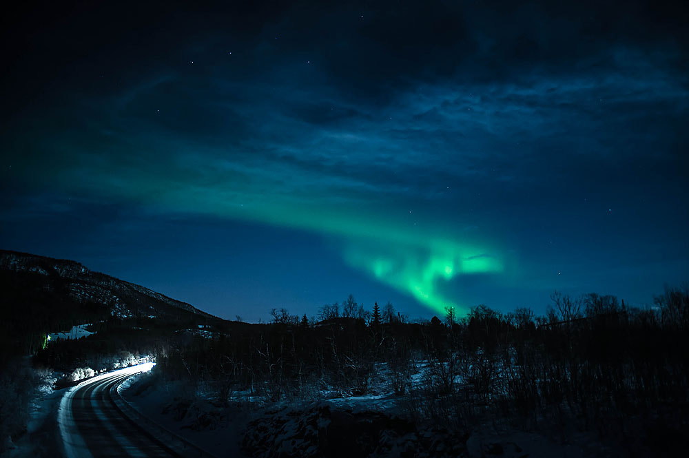 Photograph Northern lights at christmas by Frode Abrahamsen on 500px
