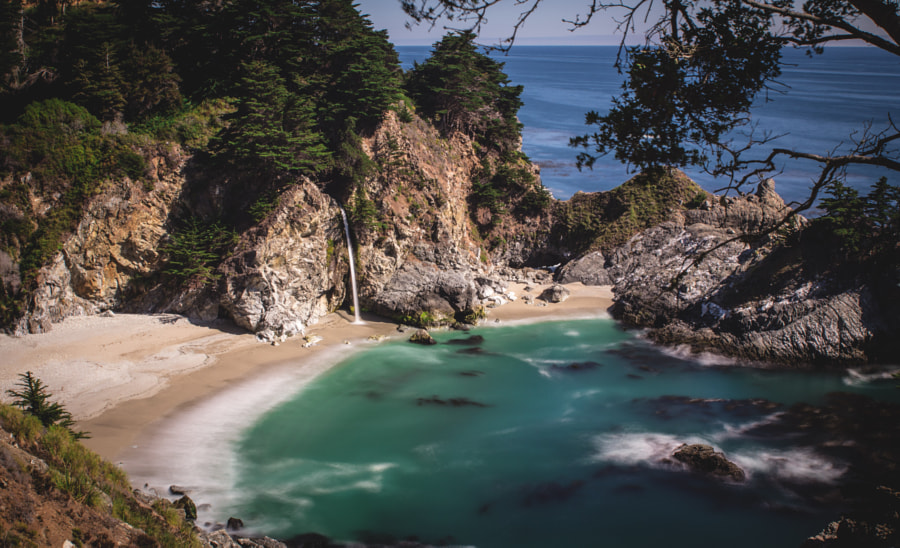 McWay Falls in Big Sur by sam wirch on 500px.com