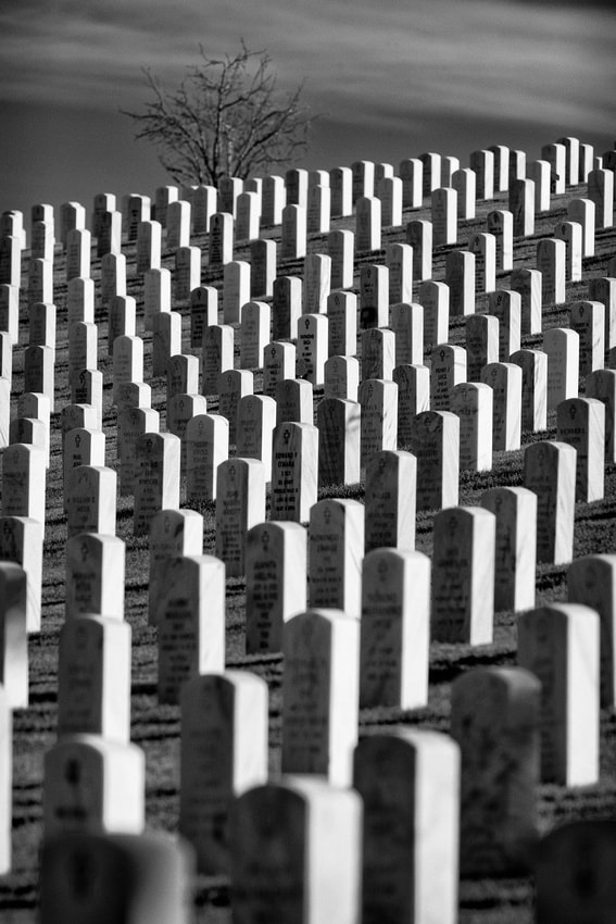 Photograph Endless graves by Glenn Nagel on 500px