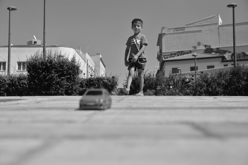 Photograph THE BOY AND THE TOY by DIMITRIS SIDERIDIS on 500px