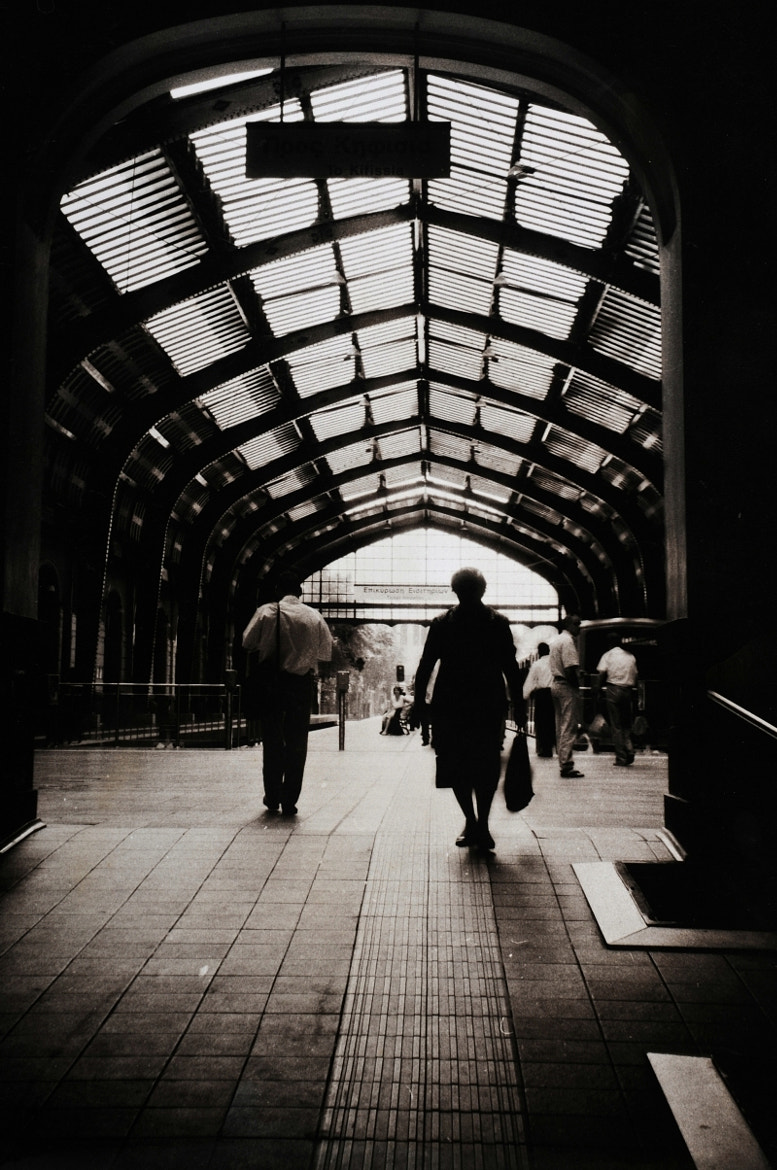 Photograph ONE DAY IN THE STATION by DIMITRIS SIDERIDIS on 500px