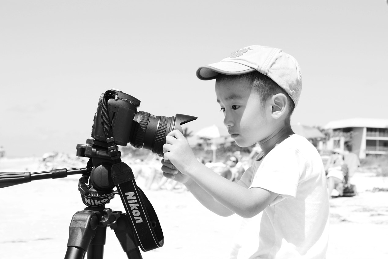 Photograph Young Nikon Fan 2 by Ming Huang on 500px