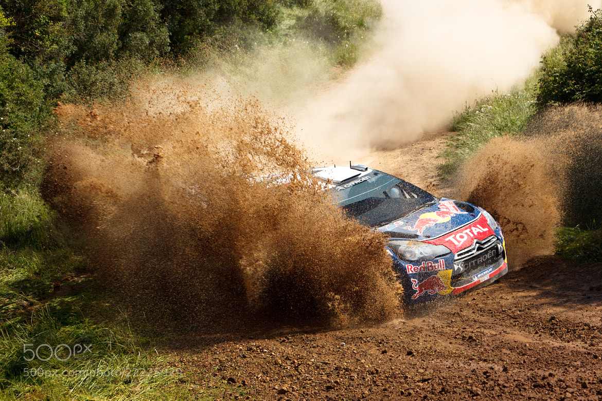 Photograph Sebastien Ogier in the mud by Mauro Cattelani on 500px