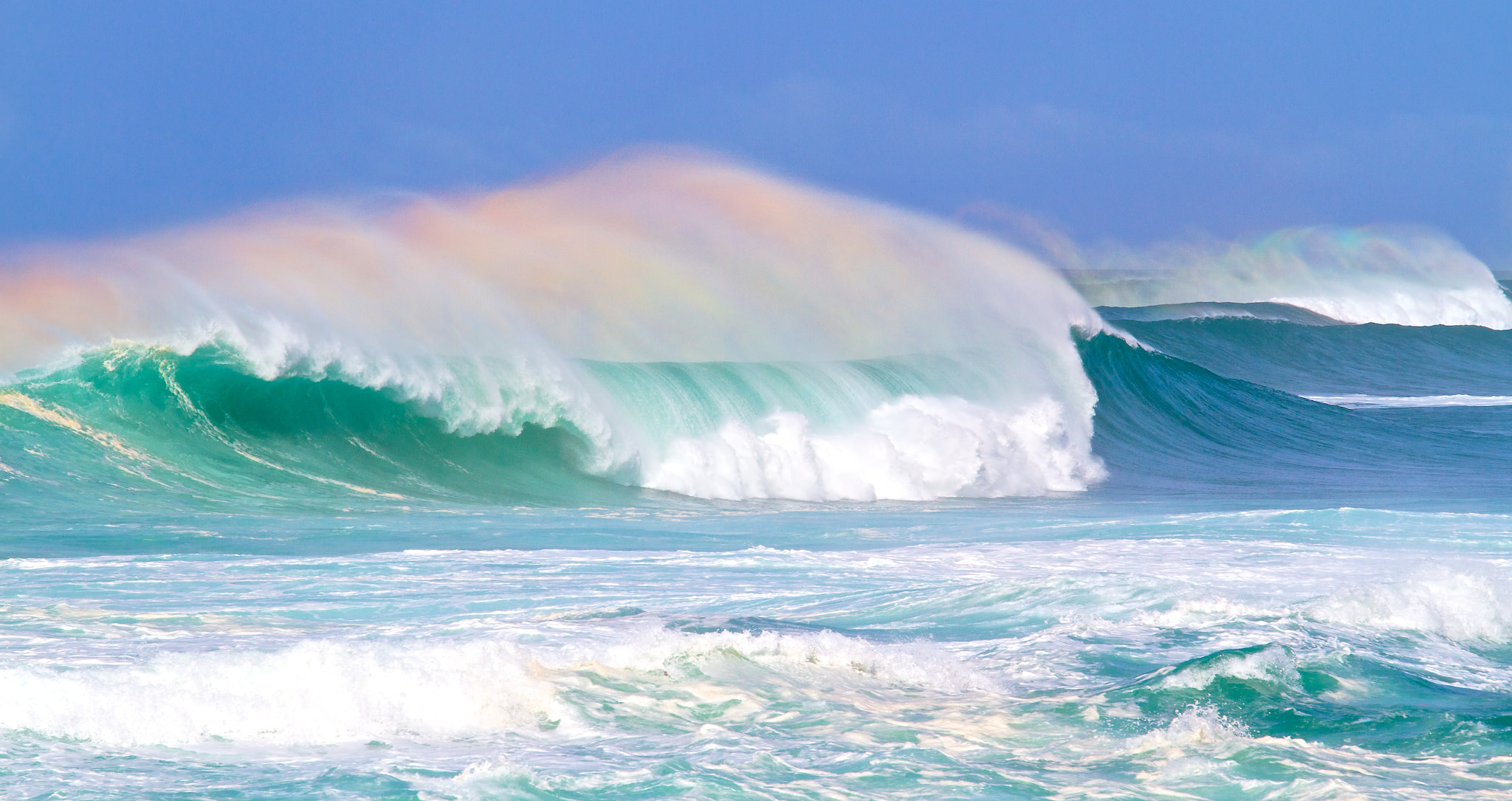 Photograph Iridescent Waves - I by Alan Fitzsimmons on 500px
