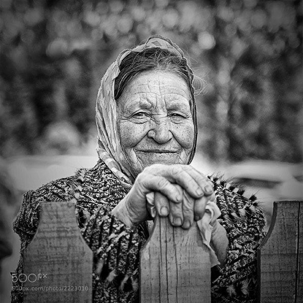 Photograph Old Lady by Alex Lukyanyonok on 500px