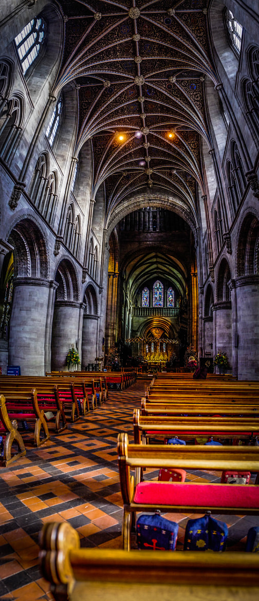 Photograph Hereford Cathederal by Colin Nicholls on 500px