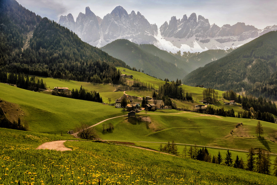"Rural Landscape photo ""Dolomites"" by landscape photographer Gürkan Gündoğdu on 500px.com"