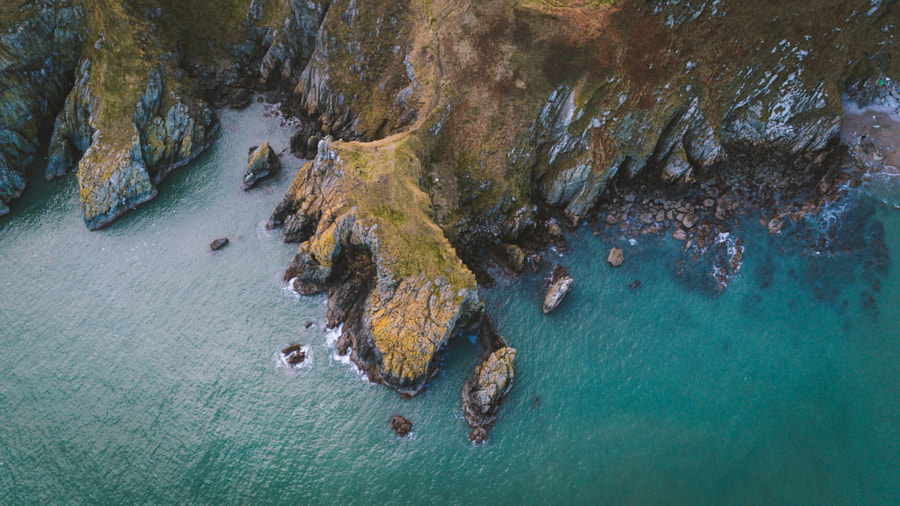"Coastal Landscape photo ""Irish coastline."" by landscape photographer Johannes Hulsch on 500px.com"