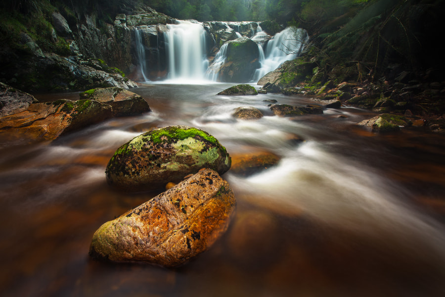 "Rural Landscape photo ""Halls Falls"" by  landscape photographers Dylan Toh & Marianne Lim on 500px.com"