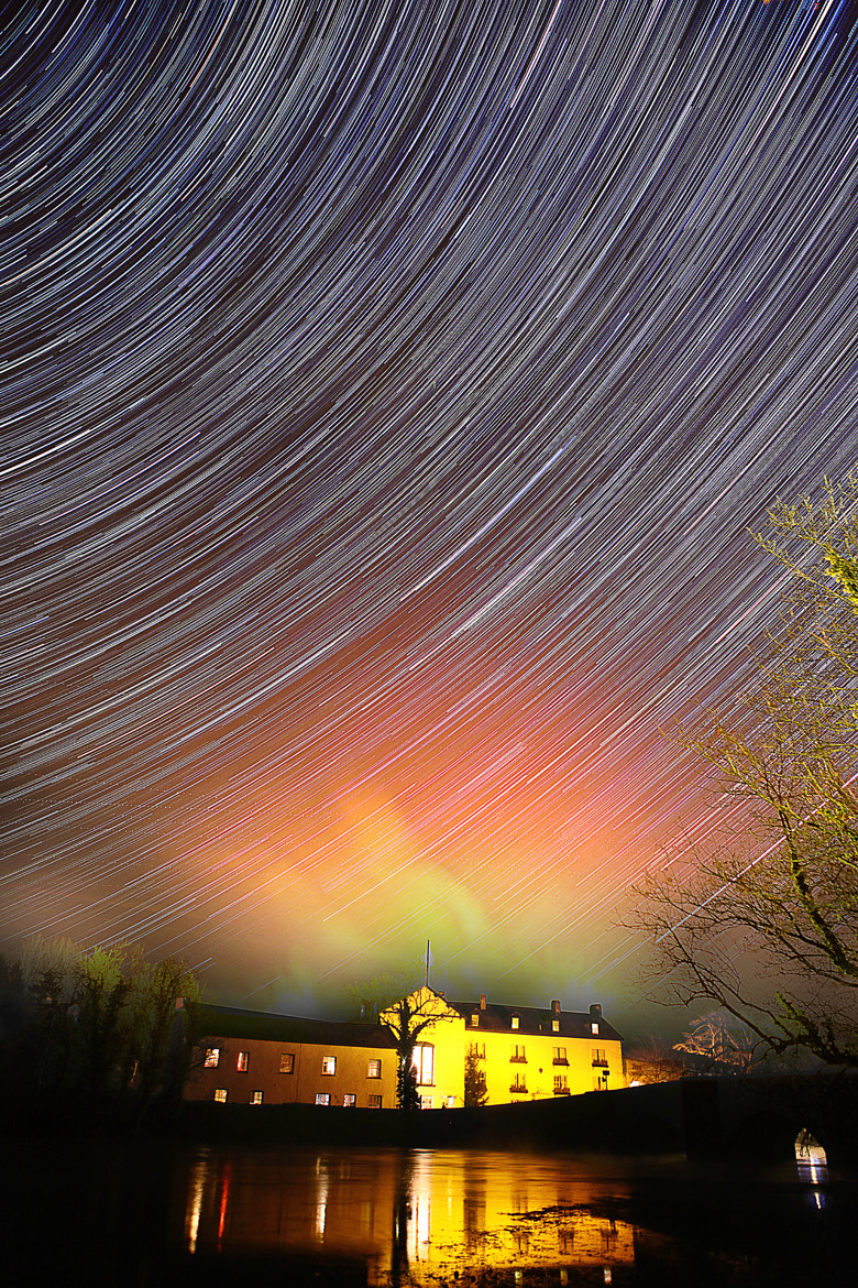 Photograph Swan Inn Star Trail by Martyn Lewis on 500px