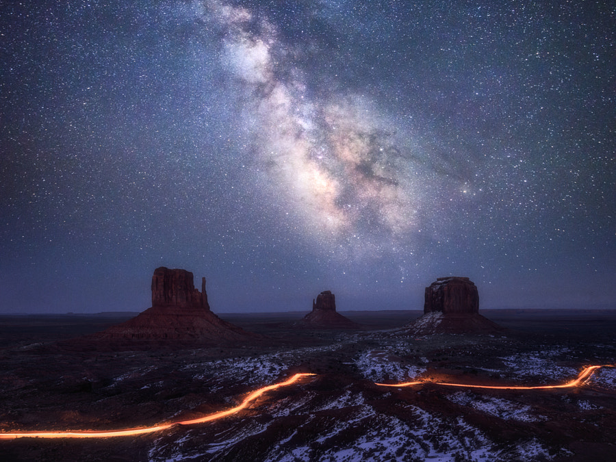Galaxy Valley, автор — Daniel F. на 500px.com