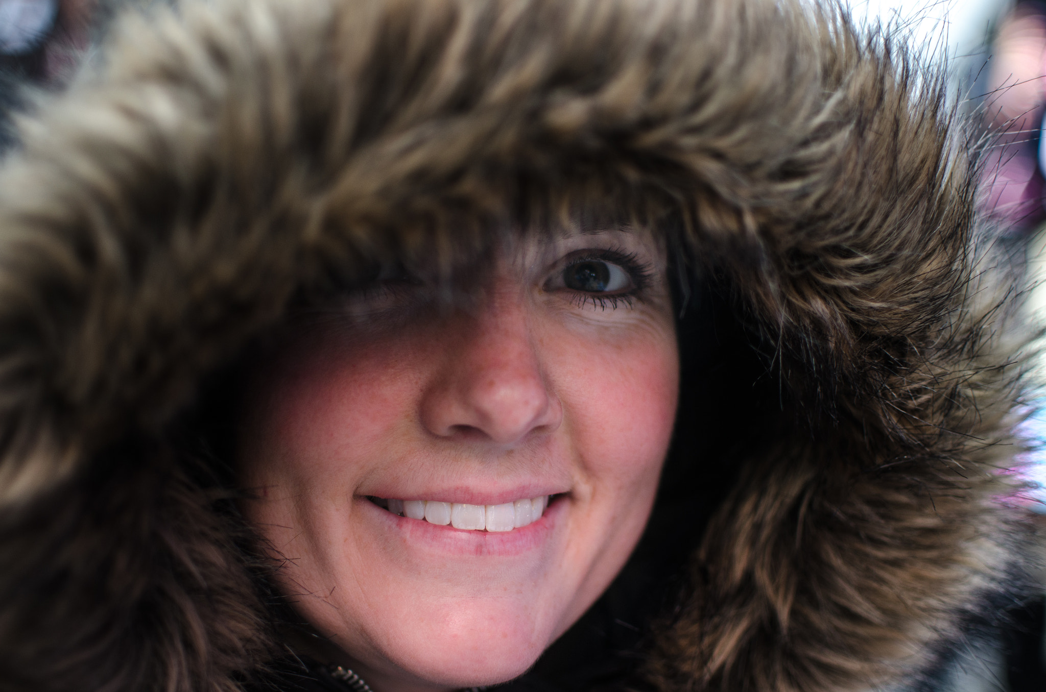 Photograph An Eskimo in New York City by Jimmy Daly on 500px