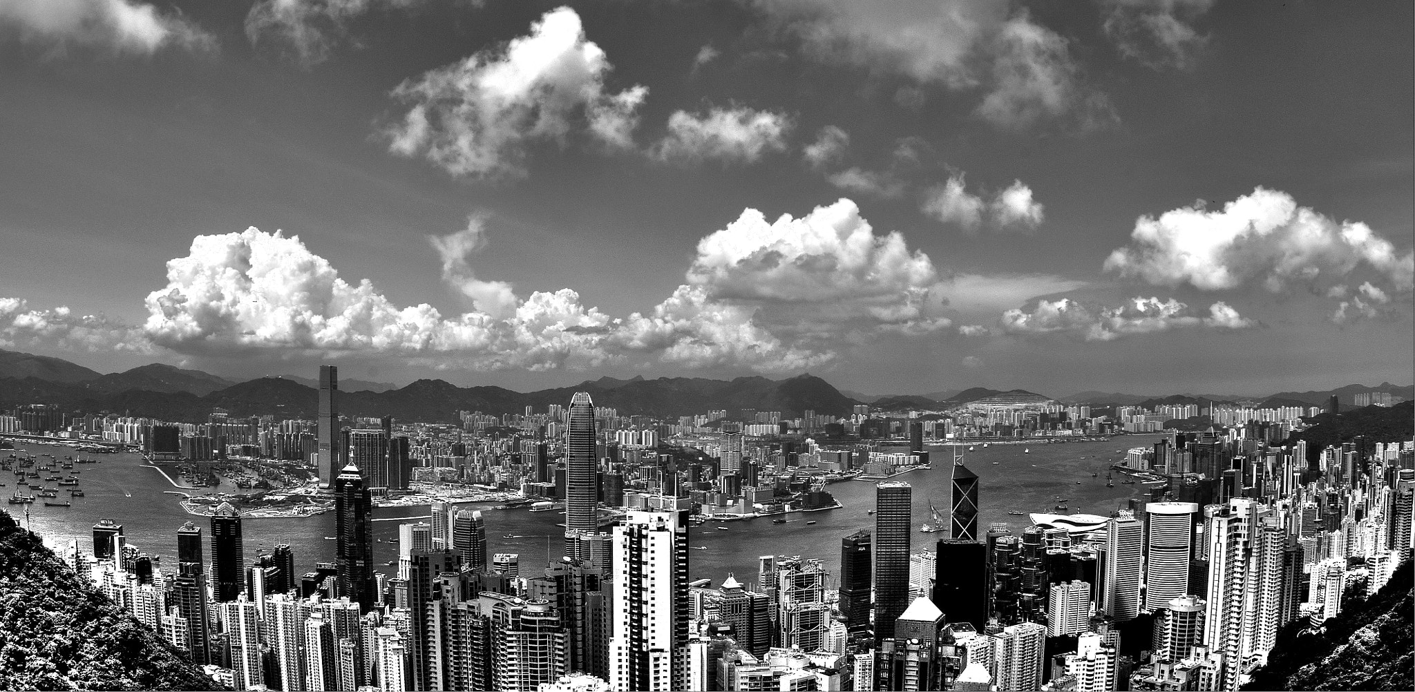 Photograph The Sky Scrapers City by Noel Menassa on 500px