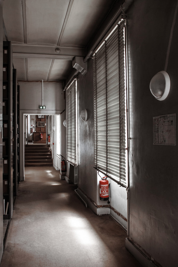 Le couloir de Christine Druesne sur 500px.com