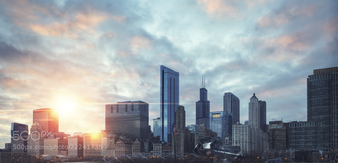Photograph chicago sunset by jeremy vandermeer on 500px