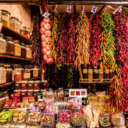 Market Stall in Barcelona