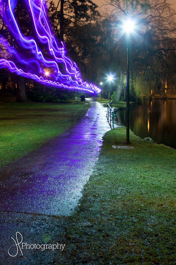 Photograph Park Laser Show by Josh Poolio on 500px