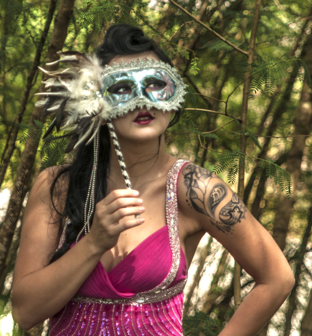 Photograph Masked beauty. by Michael Barbier on 500px