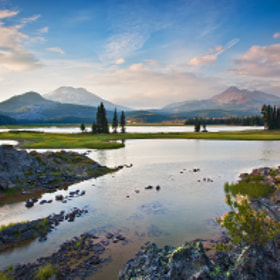 Sparks Lake (Widescreen) by Dee Nichols (dlnice)) on 500px.com