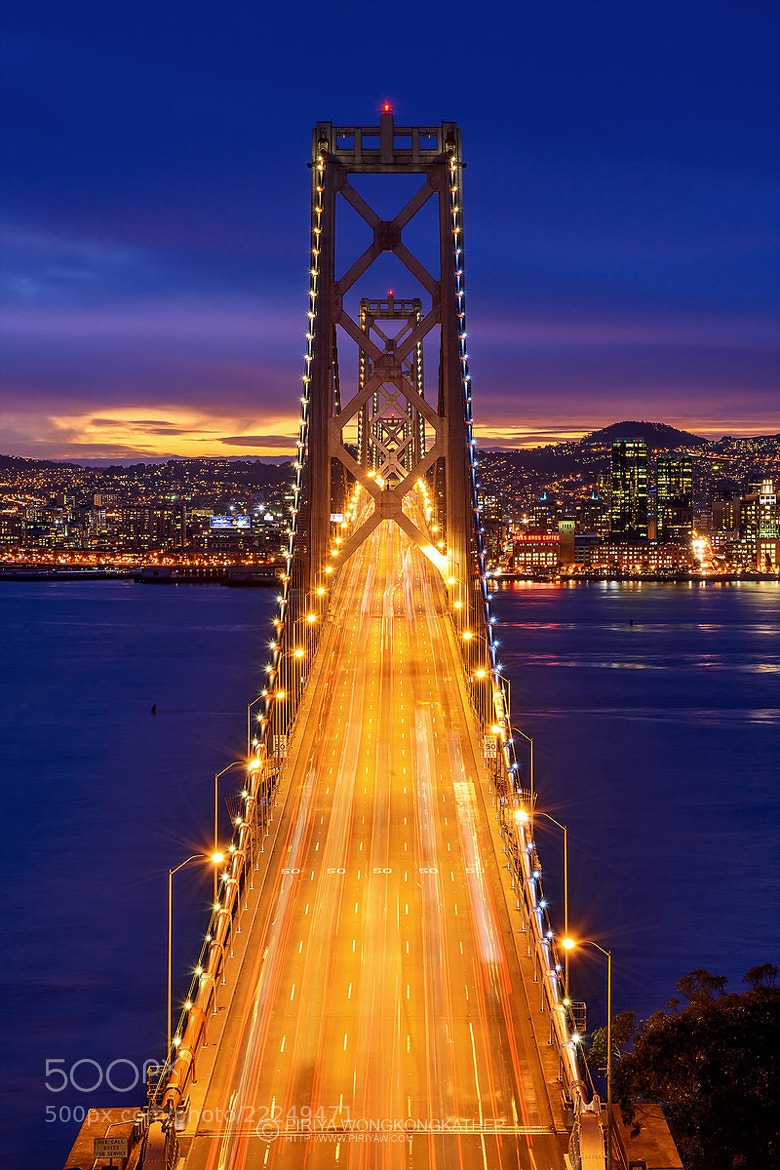 Photograph Bay Bridge by Piriya Wongkongkathep on 500px