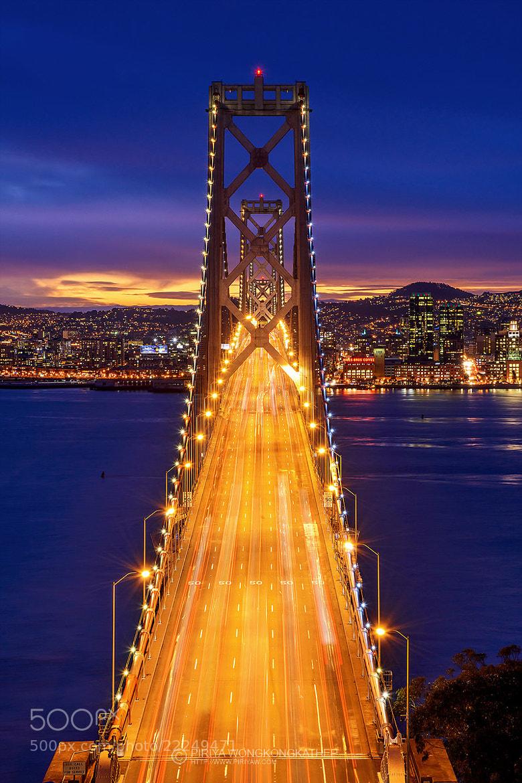 Photograph Bay Bridge by Pete Wongkongkathep on 500px