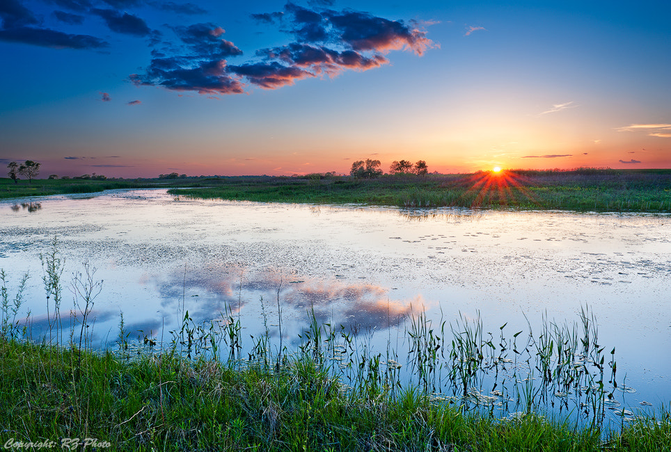 Photograph Sunset at Early Spring by Rudi Zhang on 500px
