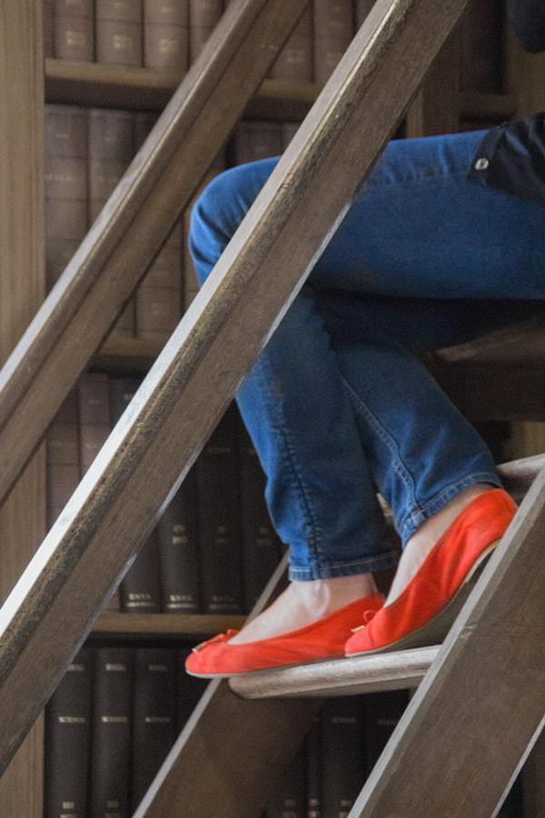 Les souliers rouges (The red shoes) de Christine Druesne sur 500px.com