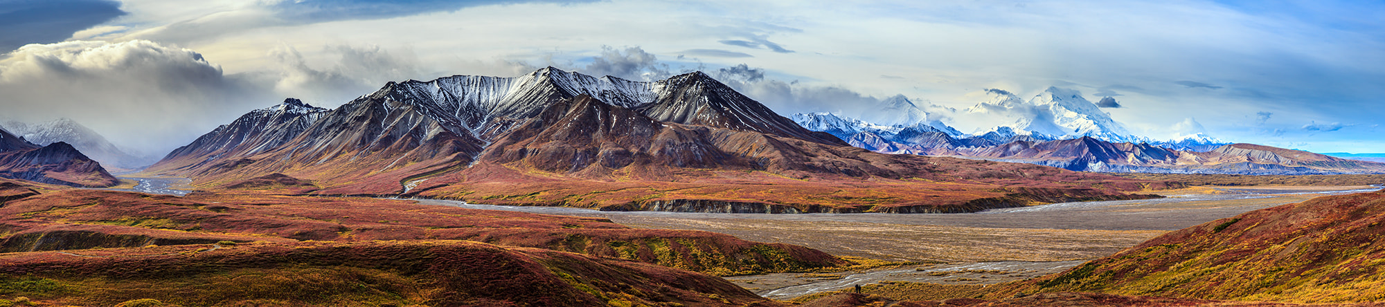Photograph Eielson panorama by Gilles Baechler on 500px
