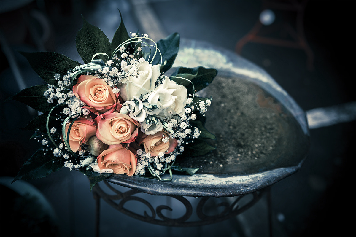 Photograph Bridal Bouquet by pixeldreamer  on 500px