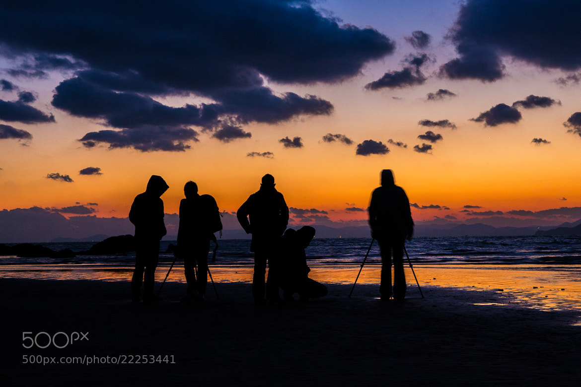 Photograph Photographing the Last Sunset of 2012 from Busan South Korea by Daniel Carroll on 500px