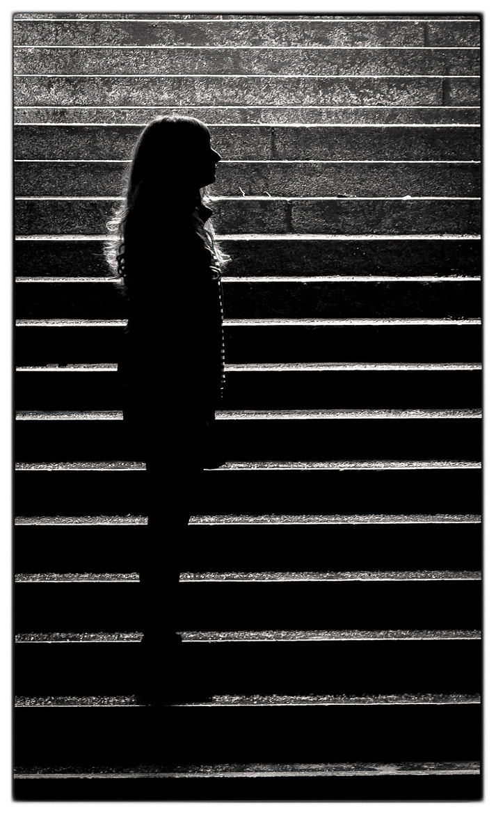 Photograph Treppensilhouette#1 by Jan Weiss on 500px