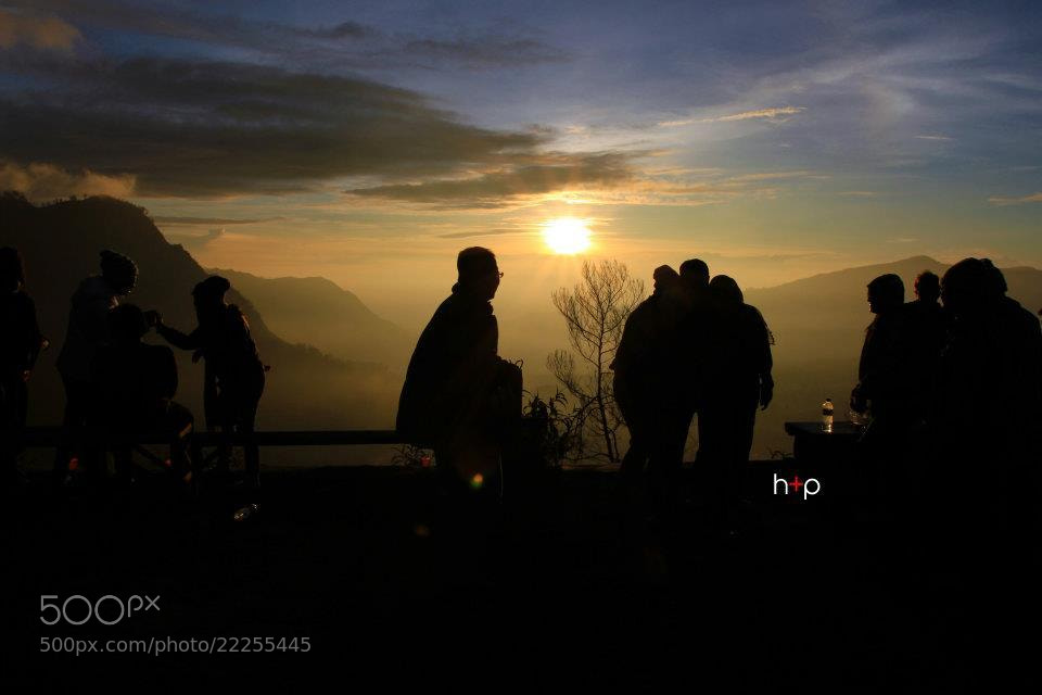 Photograph Silhouettes, Bromo by Mohd Hazrul on 500px